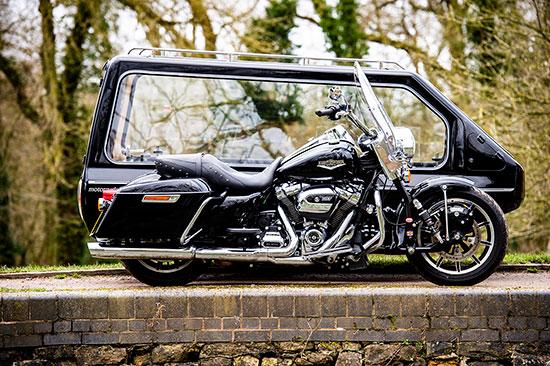 Harley Davidson Hearse