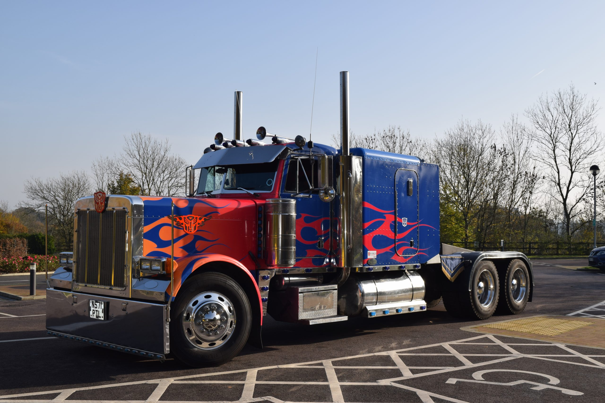 Transformers Optimus Prime Hearse